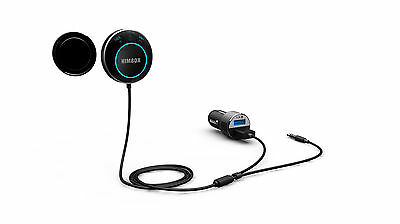 Genuine Himbox HB01 Bluetooth 4.0 Hands-Free Car Kit Wireless USB Magnetic Base