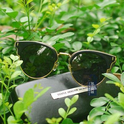 42bda86e0c4 Vintage sunglasses GENTLE MONSTER black darkgrey polarized lenses eyeglasses