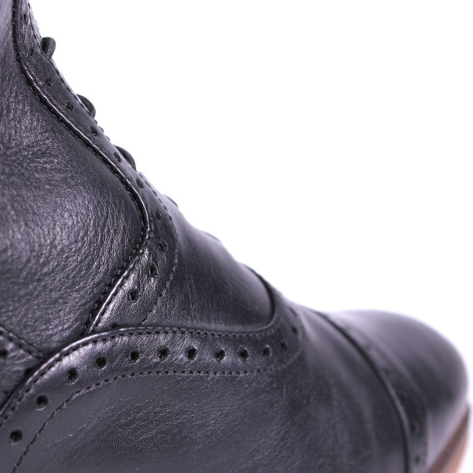 QHP Damen Luxus Leder-Reitstiefel Sophia normal schwarz schwarz schwarz Größe 36 - 42 0cebeb
