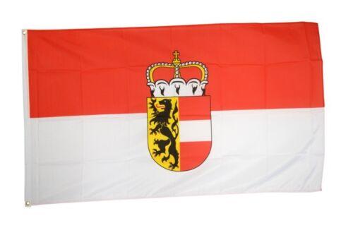 Fahne Österreich Salzburg Flagge Salzburger Hissflagge 90x150cm