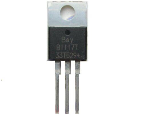 10PCS SOT-2 LM1117DT-3.3 NSC LM1117-3.3 LM1117 SMD 3.3v 1A Voltage Regulator
