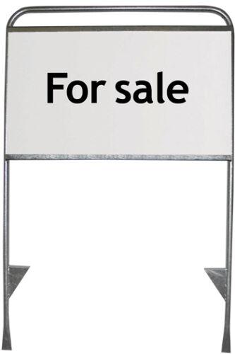 Hinweise steckbar in Rasen EXPO Werbeschild für Baustellen Immobilienverkauf