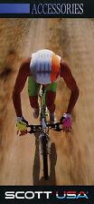 Prospekt Scott USA Accessories 1990 Folder Fahrradzubehör Zubehör Fahrräder