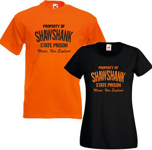 Property Of Shawshank Mens Funny Movie Inspired T-Shirt Redemption Film Prison