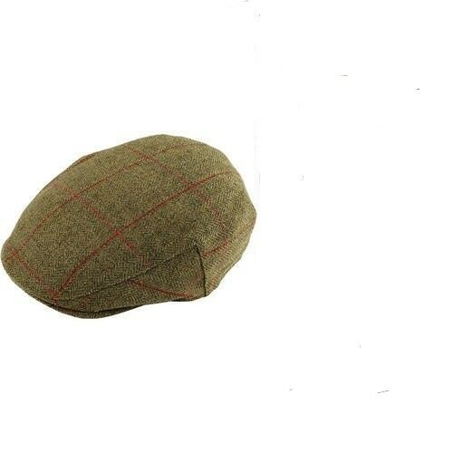 Alan Paine Gents Compton Wool Tweed Shooting clothing Outdoors Mens flat Cap Hat