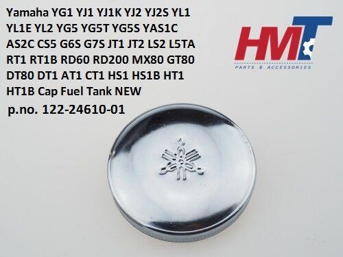 Yamaha YG1 YL2 JT1 JT2 RD60 RD200 MX80 GT80 DT80 AT1 HS1 HT1 Cap Fuel Tank NEW