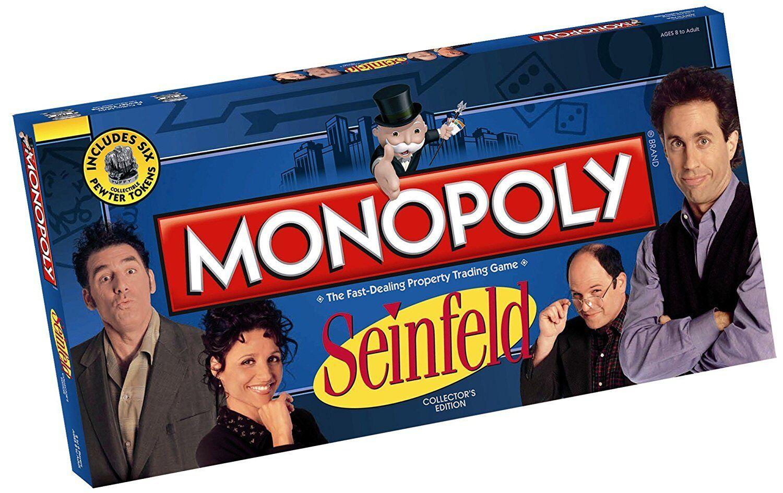 Monopolio  Seinfeld Edición Coleccionista Juego de Mesa Usaopoly Nuevo abugames