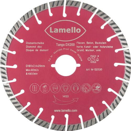 Lamello Diamant-Trennscheibe für Tanga DX200 Ø 180132530