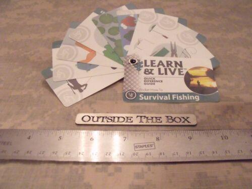Système Universel Sans Chambre à air survie pêche cartes 10 Cartes New 2016 Ultimate Survival Technologies