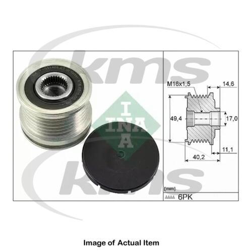 New Genuine INA Alternator Freewheel Clutch Pulley 535 0124 10 Top German Qualit