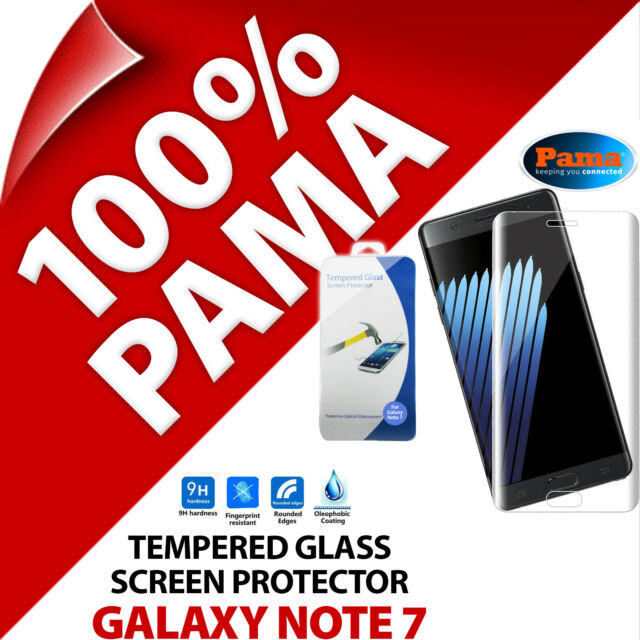 Pama Protection Écran en Verre Trempé Garde Film Samsung Galaxy Note 7