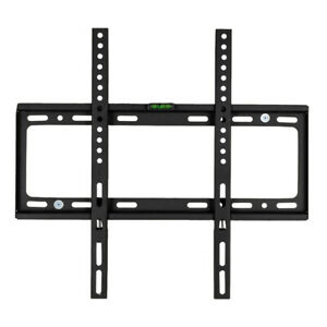 26-034-55-034-Black-Lcd-Wall-Mount-Bracket-TV-Mount-With-Sprit-Bubble-TV-Stand