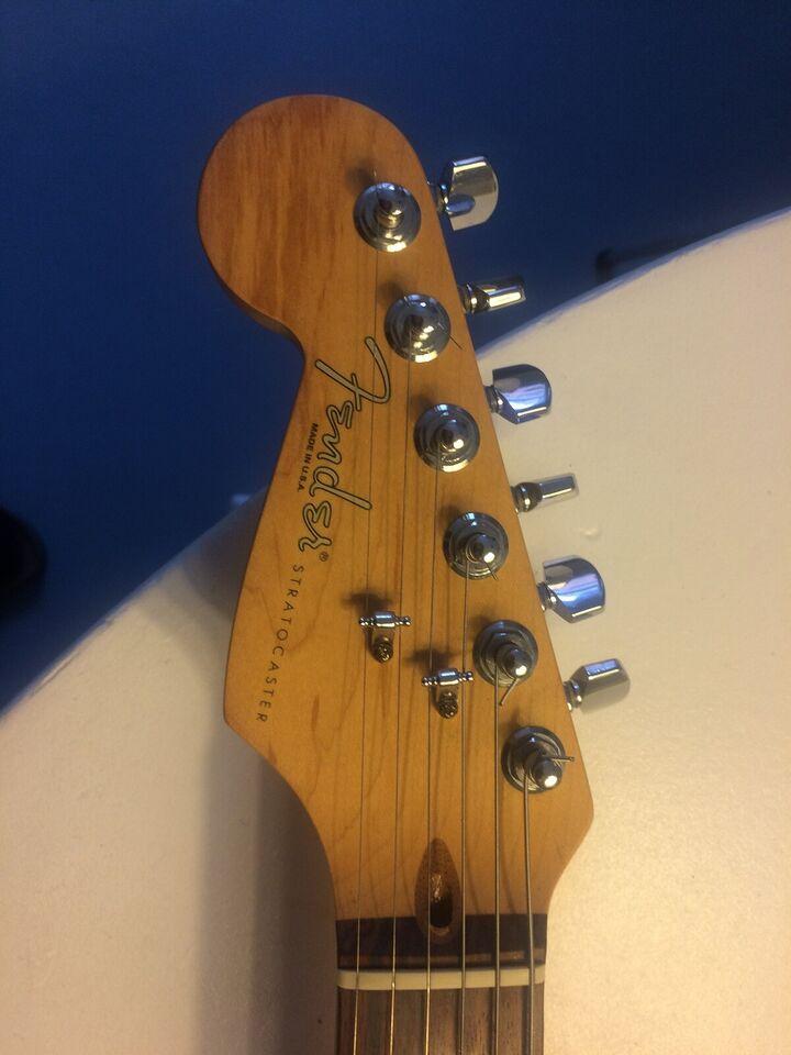 Elguitar, Fender (US) Strat