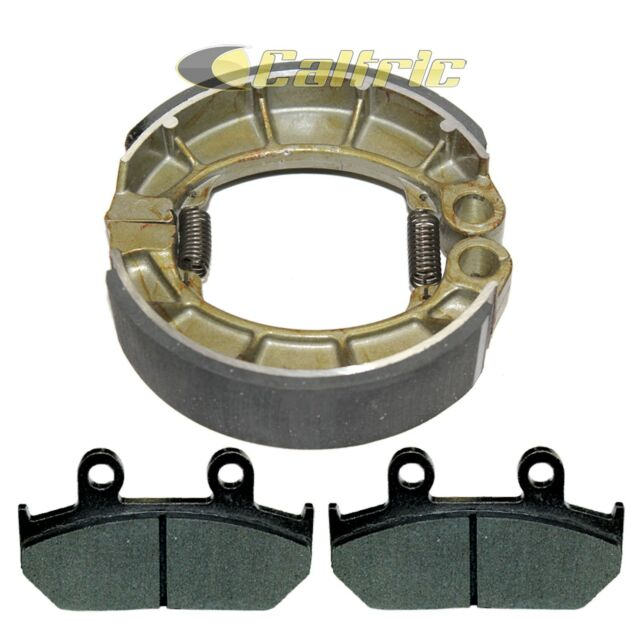 Front Brake Pads  U0026 Rear Shoes For Honda Vt600cd Shadow 600 Vlx Deluxe 1993