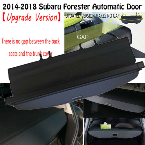 Retractable Trunk Cargo Cover Shade for 2014-2018 Subaru Forester automatic door