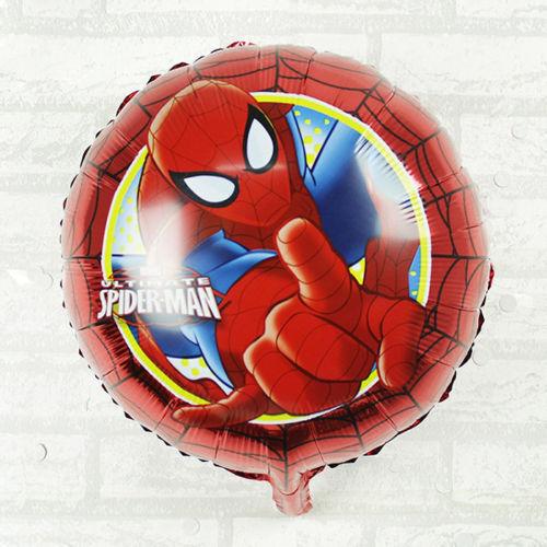 Globos De Papel De Aluminio Vengador Spiderman Para Niños Fiesta De Cumpleaños Nuevo Nacido Niño Bebé Ducha