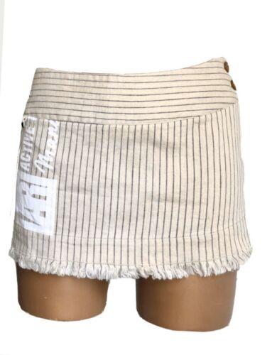 Vivienne Westwood Striped Linen Blend Skirt , Red