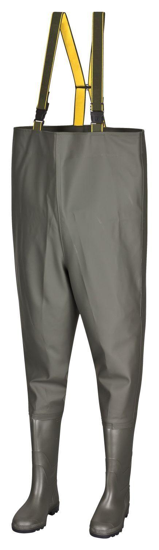 Impermeabili professionale Fischer-qualità PESCATORE wathosen Pantaloni Pantaloni Watt stagno Pantaloni Pescatore Pantaloni