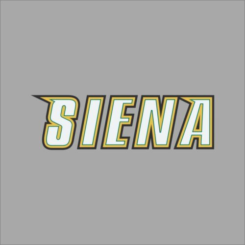 Siena Saints #3 NCAA College Vinyl Sticker Decal Car Window Wall
