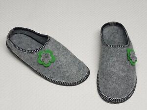 size 40 b744b 2c40b Details zu Damen Hausschuhe-Pantoffeln-Latschen aus Filz Gr.40