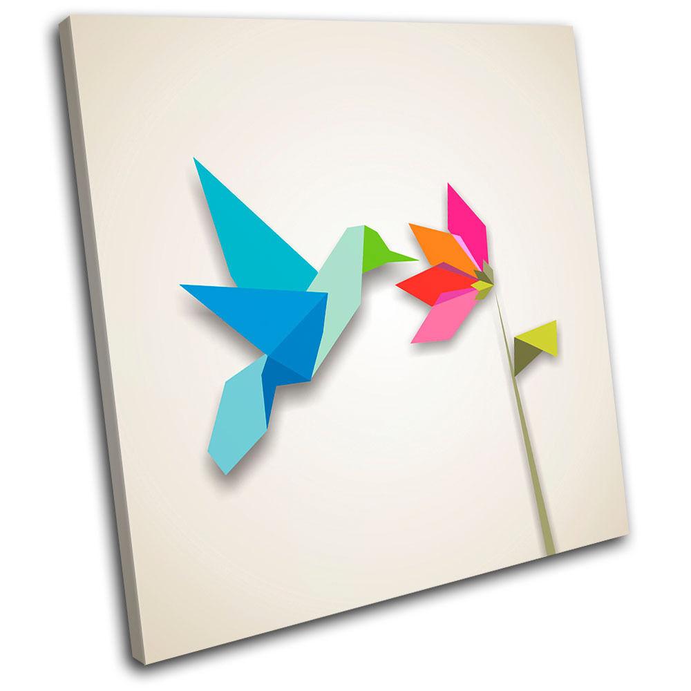 Bird Retro Illustration SINGLE LONA arte pa rojo  arte LONA Foto impresion 9d9109