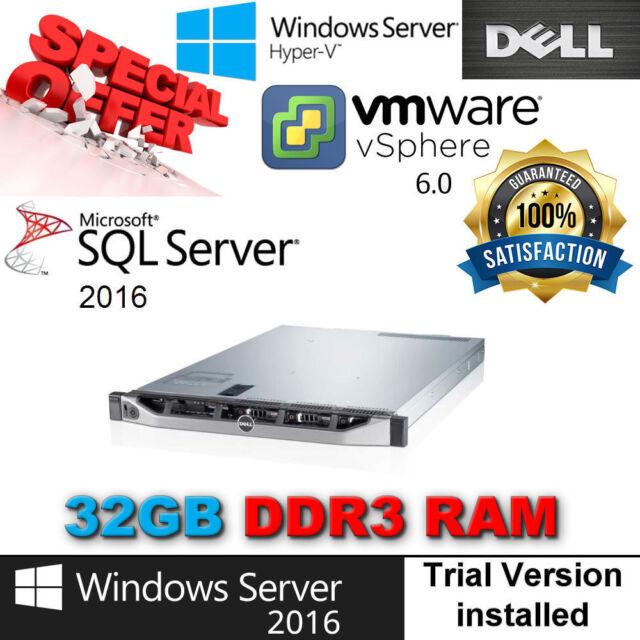 Dell PowerEdge R420 2x E5-2440 2.40Ghz 6-CORE 32GB RAM 4x300GB SAS 15K PERC H310