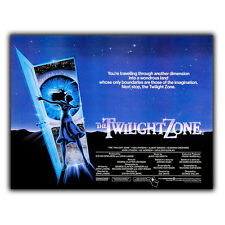Twilight Zone: The Movie Steven Spielberg METAL SIGN WALL PLAQUE Poster Print