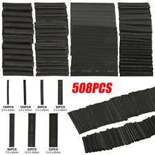 508pcs Heat Shrink Tubing Wire Wrap Assortment Set Waterproof Electrical Cable