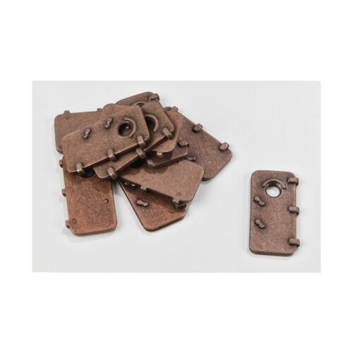 Amati AM4939-25 Porte in metallo 13x25 mm 10 pz modellismo