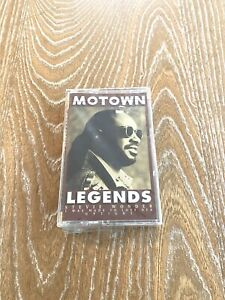 Stevie-Wonder-Motown-Legends-Cassette-Tape-1994-Motown-Records-FACTORY-SEALED