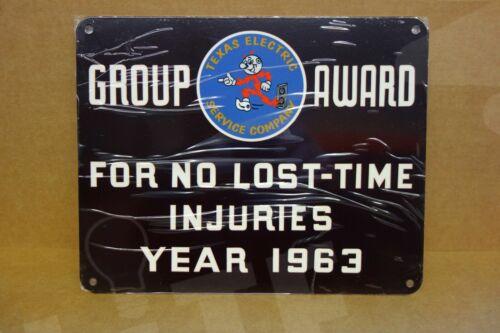 "Reddy Kilowatt TEXAS ELECTRIC GROUP AWARD TIME//INJURIES ELECTRICIAN GIFT 8/""X10/"""