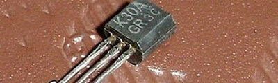 25 PCS 2SK30A-GR TO-92 2SK30ATM-GR 2SK30 K30A-GR K30A Pre-Amplifier