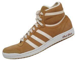 Détails sur Adidas top ten hi sleek Chaussures Femmes Chaussures sneaker chaud marron clair afficher le titre d'origine