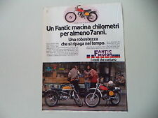 advertising Pubblicità 1978 MOTO FANTIC CABALLERO CASA TX-190 50