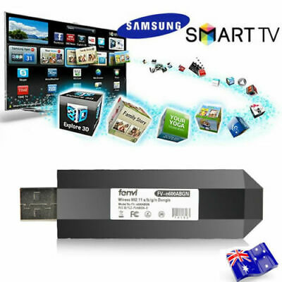 Wireless LAN Adapter Wifi USB Dongle for Samsung TV Work as WIS09ABGN WIS12ABG