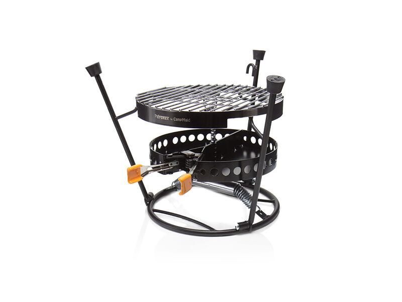 3 tlg. Petromax pro-ft-set Grill Grillrost Kohlenschale Deckelhalter Camping BBQ