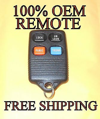 100/% OEM FACTORY LINCOLN KEYLESS ENTRY REMOTE FOB TRANSMITTER GQ43VT4T
