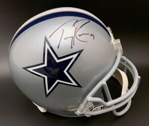 classic fit 2c351 76ae1 Details about Tony Romo SIGNED Dallas Cowboys Full Size Replica Helmet  PSA/DNA AUTOGRAPHED