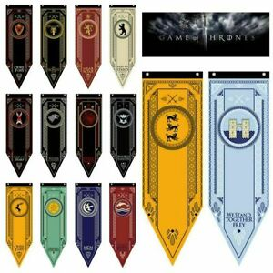 Game-of-Thrones-Banner-House-Flag-Stark-Targaryen-Lannister-Wall-Hanging-Decor