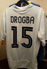 Chelsea Football Shirt Drogba 15 Extra Large