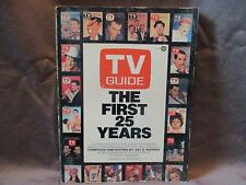 TV Guide The First 25 Years 1980 Softcover Book Edited By Jay Harris