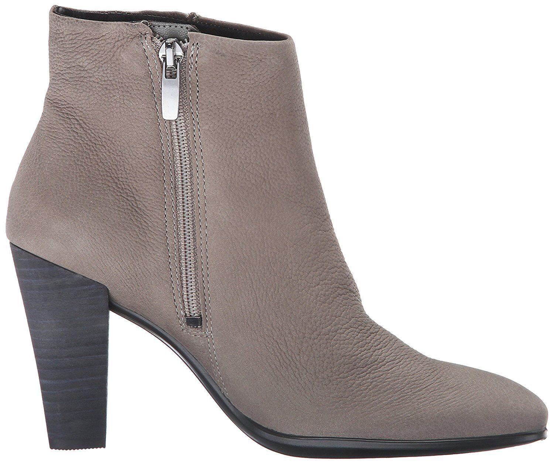 ECCO damen SHAPE 75 Ankle Stiefel Low Cut Stiefelie Zip Slip On grau EU 40, US 9-9.5