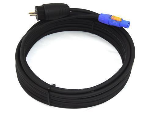 9,25€//m Powercon NAC3FCA 20A Power In Schuko Netzkabel H07RN-F 3G2,5 3x2,5  2m