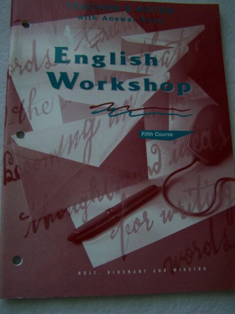 English Workshop with Answer Key : Tenessee Edition by ...