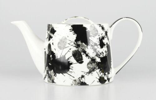 """1,0l Jameson /& Tailor Designer Teapot Decorative /""""Pen/"""" Brilliant Porcelain"""