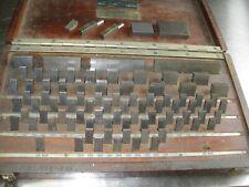 Fonda Gage Co Precision Gauge Block Set Complete