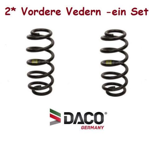 Bj.2004-2012 2* Vordere FEDERN für Ford Focus II 1.4//1.6 Daco Germany 801030