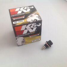 For Nissan 370Z K&N Oil Filter + Magnetic Sump Plug