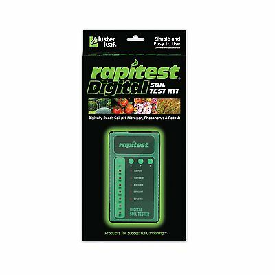 RAPITEST 1605 DIGITAL SOIL TEST KIT LAWN FLOWER PLANT GARDEN TESTER pH NPK