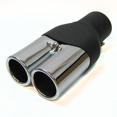 Twin Exhaust Tip Trim Pipe Muffler Fits Bmw E34 E39 M5 M3 M6 E36 E21 E30 E36 E46